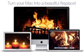 fireplace screensaver wallpaper hd