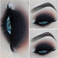 makeup looks featuring y smokey eyes