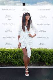 KELLY ROWLAND at Everest Race Day at ...