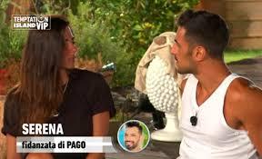 Serena e Pago: lui,