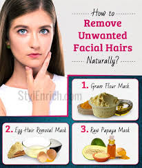 get rid of unwanted hairs