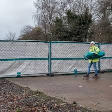 Acoustic Shield Temporary Fencing Noise Barriers Blok N Mesh