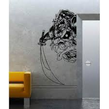 Asian Art Wall Stickers Japanese Demon Wall Decal