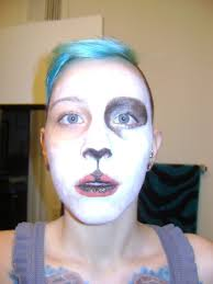 pretty panda makeup how to
