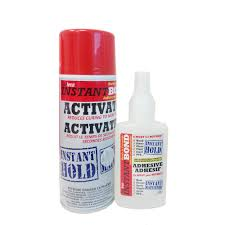 Instantbond 100 400 Ml Clear World S Fastest Instant Adhesive And Cyanoacrylate Glue And Activator Spray 100 400 The Home Depot