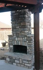 tulsa brick works outdoor fireplaces