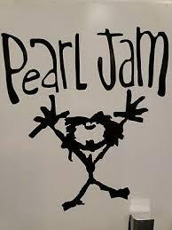 Pearl Jam Vinyl Decal Rare Ebay