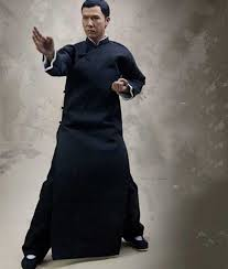 IP Man 4's IP Man (Donnie Yen) Tunic/Robe in Black Color