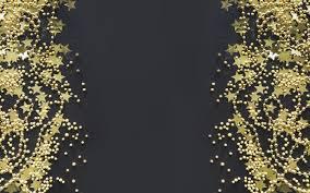 تحميل خلفيات خلفية سوداء مع النجوم الذهبية خلفية عيد الميلاد