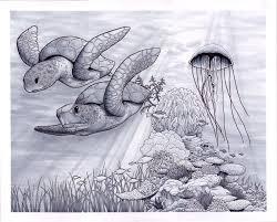 Pin by Wendi Hamilton on turtle in 2020 | Ocean tattoos, Ocean theme  tattoos, Ocean sleeve tattoos