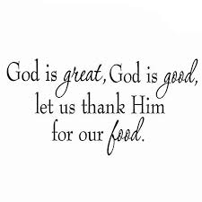 Vwaq God Is Good God Is Great Wall Quotes Decal V1