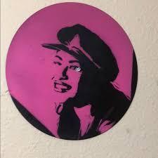 Wall Art Selena Quintanilla Vinyl Art Street Graffiti Poshmark