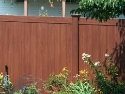 V300 6 A Six Foot Tall Illusions Privacy Fence Panel In Rosewood Wood Grain Vinyl Finish Pro Fence Supply