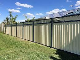 Colorbond Fences In Caloundra Fencescape Fencing
