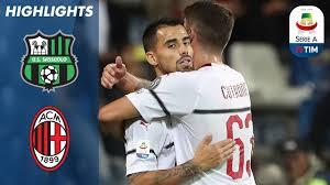Sassuolo 1-4 AC Milan | Suso Bags a Brace as AC Milan Thrash ...