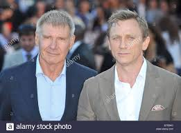 Harrison Ford and Daniel Craig Cowboys & Aliens - UK film premiere Stock  Photo - Alamy