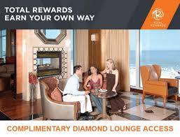 total rewards diamond lounge access