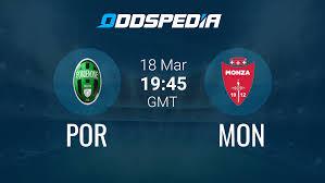 Pordenone Calcio 1-1 SSD Monza » Full Time Result, Odds & Stats