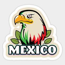 Mexico Bald Eagle Mexico Sticker Teepublic