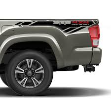 Sr5 4x4 Off Road Bedside Vinyl Decal Set Fits 2013 2020 Toyota Tacoma Us Rallystripes