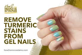 remove turmeric sns from gel nails