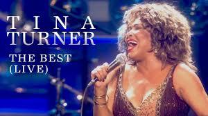 Tina Turner - The Best (Live) - YouTube