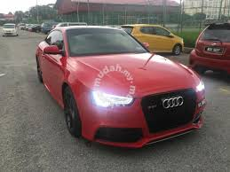 audi a5 rs facelift style full