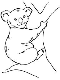 Koalabeer Kleurplaat Gratis Kleurplaten Printen