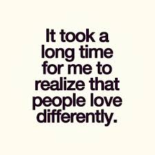 people love differently friends lovers