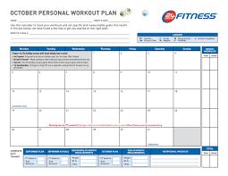 40 effective workout log calendar