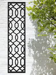 Screen With Envy Garden Trellis Helix Design Black Amazon Co Uk Garden Outdoors