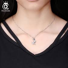 cute double dolphin pendant necklace