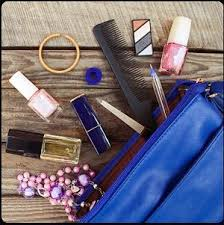 make up bag get answers for one clue