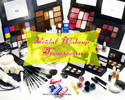 bridal makeup trousseau must have