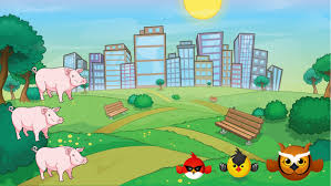 angry birds epic (red is the only one playable not chuck or bomb ...