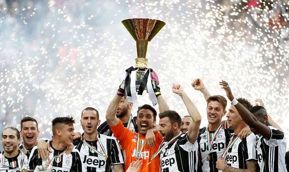 Image result for Juventus serie a trophy""