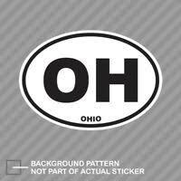 Stuck In Ohio Car Window Decal Vinyl Bumper Sticker Usa American State 0155 Ebay