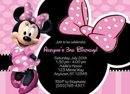 Invitaciones De Cumpleanos De Minnie Mouse Para Poner De Fondo 2 E