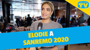 Elodie a Sanremo 2020: «