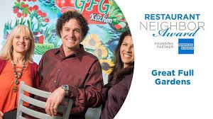 2019 restaurant neighbor award winner