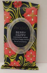 pacifica berry happy cleansing wipes