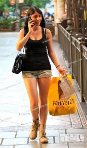 Cassidy Lehrman shopping at The Grove in Hollywood Featuring ...