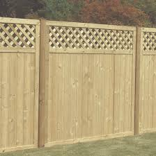 Tongue And Groove Lattice Top Panel Hartwells Fencing