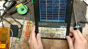 How To Test A Zareba Sp3 3 Mile Solar Fence Charger Repair Review Youtube