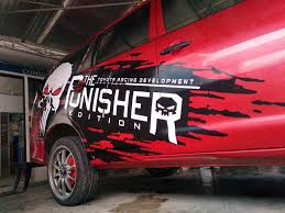 Decals Sticker Installation Punisher Gry 88 Prints Graphix Decals And Car Wrapping Iloilo Facebook