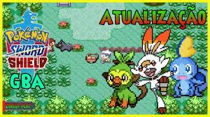 Nova Atualização! Pokémon Sword e Shield Gba/Android by ZURKGP PLAY