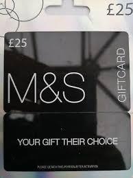 marks spencer m s gift card 25 21