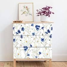 Amazon Com Alwayspon Self Adhesive Dresser Sticker Peel And Stick Furniture Stickers Decals Removable Furniture Skin 009 Malm Home Kitchen
