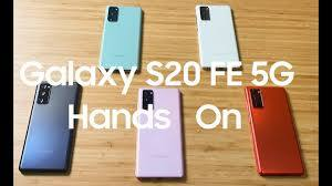 Samsung Galaxy S20 FE Hands On - YouTube