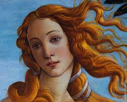 Oil painting reproduction of The Birth of Venus* (Botticelli)